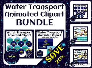 Animated Water Transport Clipart BUNDLE – Save 20% | Teaching Resources - TES News