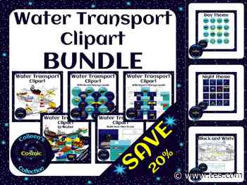 Water Transport Clipart BUNDLE – Save 20% | Teaching Resources - TES News
