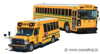 Mandatory for all imported school buses to be painted in yellow : Transport Ministry - News 1st