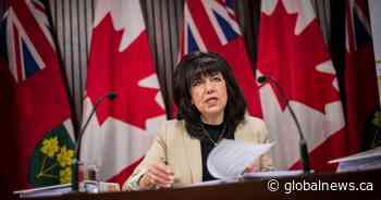Ontario's auditor general says province overestimated costs of services to irregular border crossers