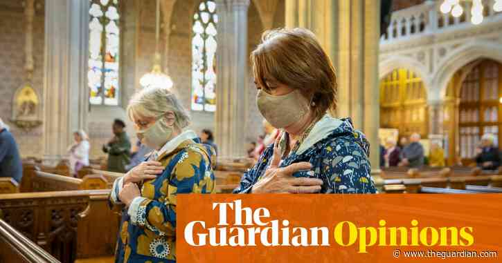 I'm glad to be back in church – even if there's hand sanitiser instead of holy water