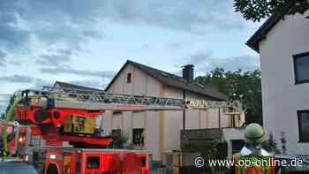 Dietzenbach: Brand droh auf Wohnhaus überzugreifen - Feuerwehr im Großeinsatz - op-online.de