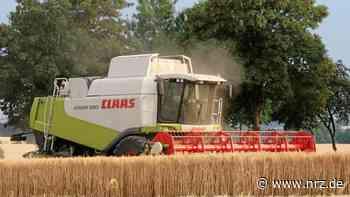 Isselburg: Getreideernte startet 2020 früher als sonst - NRZ