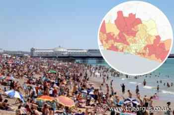 Brighton and Hove: Map shows potential coronavirus hotspots - The Argus