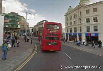 Man grabs woman's neck as she boards Brighton bus - The Argus