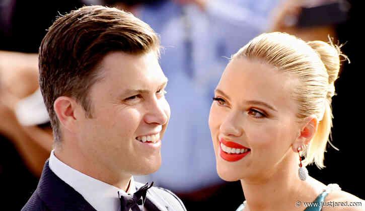 Colin Jost Blames Scarlett Johansson For That Viral Guitar Moment on 'SNL'