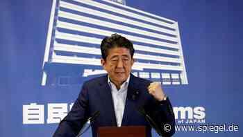 Japan: Shinzo Abe scheitert daran, die Friedensverfassung zu ändern - DER SPIEGEL - SPIEGEL ONLINE
