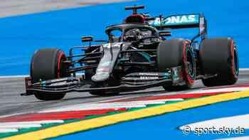 Formel 1: Lewis Hamilton in Spielberg auf Platz fünf zurückversetzt - Sky Sport