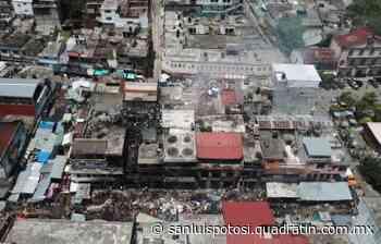 Mercado de Tamazunchale sigue en ruinas, a 2 años de incendio - Quadratín - Quadratín San Luis