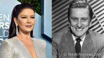 Catherine Zeta-Jones gushes about late father-in-law Kirk Douglas: 'A man of such strength'