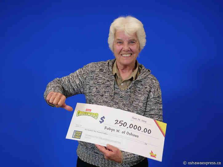 Oshawa woman wins big on OLG instant lotto