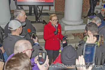 Sen. Chase leads Second Amendment rally at state Capitol - Chesterfield Observer