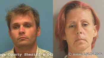 Two arrested after Louisiana chase ends in Beaumont - KPLC