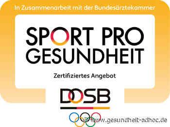 Zahl der vom Deutschen Karate Verband zertifizierten Gesundheitsstützpunkte nimmt zu - GESUNDHEIT ADHOC