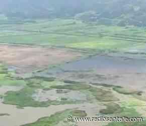 Alerta por desbordamiento de la Laguna Fúquene en Gachetá, Cundinamarca - Radio Santa Fe