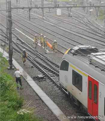 Treinverkeer ligt stil na personenongeval in Zottegem