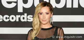 Ashley Tisdale Shows Off Her Dance Moves While Clad In Ripped Overalls & A Black Bra - The Inquisitr