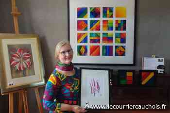 Hautot-Saint-Sulpice. Sylvie Cabal ouvre les portes de son atelier ce week-end - Le Courrier Cauchois