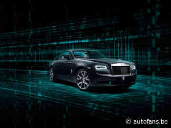 Rolls-Royce Wraith Kryptos Collection speelt een beetje De Mol - Autofans.be