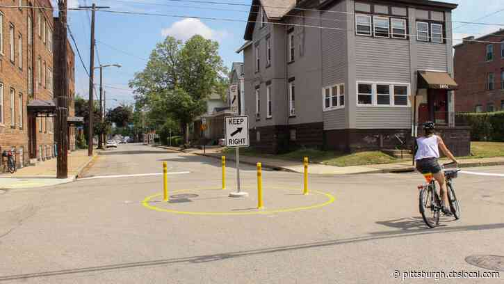 City Of Pittsburgh Testing Out Traffic Circles Along North Euclid Avenue