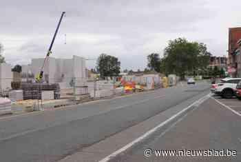 150 betonmixers voor aanleg ondergrondse parking - Het Nieuwsblad