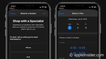 Apple Stores now offer personal 'Shop with a Specialist' appointments