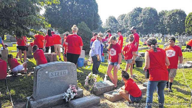 Friends of Greenlawn Cemetery Foundation prepare for Serve Day