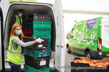 Ealing housing group gives £2,000 to food service charity