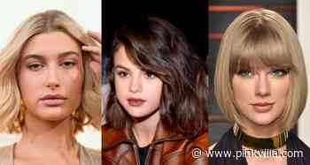 Hailey Bieber, Selena Gomez to Taylor Swift: Celebrity approved ways to style short chin length hair - PINKVILLA