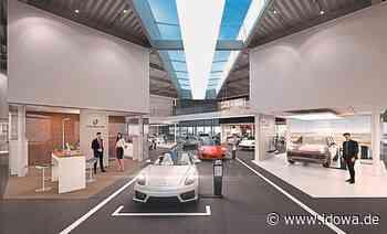 Gegenüber dem AVP-Autoland: Hochmodernes Porschezentrum für Plattling - idowa