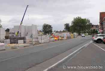 150 betonmixers voor aanleg ondergrondse parking (Hamme) - Het Nieuwsblad