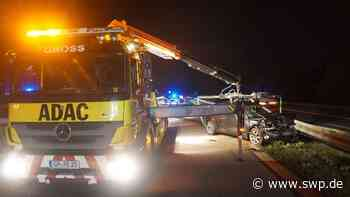 Unfall B10 Uhingen: Audi rammt BMW auf der B10 - SWP