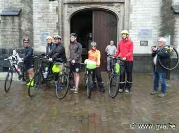 Zes pelgrims zijn op weg met de fiets naar Rome - Gazet van Antwerpen