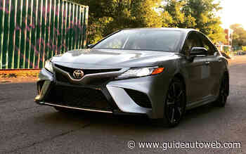 Toyota Camry XSE AWD: oubliez la voiture de taxi