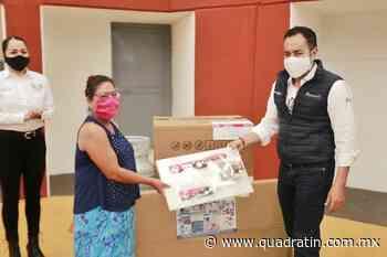 Entrega Carlos Herrera apoyos de Vende Más por 2.7 mdp en Zacapu - Quadratín - Quadratín Michoacán
