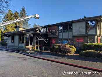 Man charged in New Year's Day fire that destroyed Tsawwassen business complex