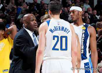Next Man Once Again for McMillan, Pacers