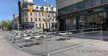 Guelph's downtown dining district to stick around for the summer