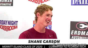 WATCH: 'Sit Down With Steve' Features Standout Merritt Island Lacrosse Player Shane Carson - SpaceCoastDaily.com