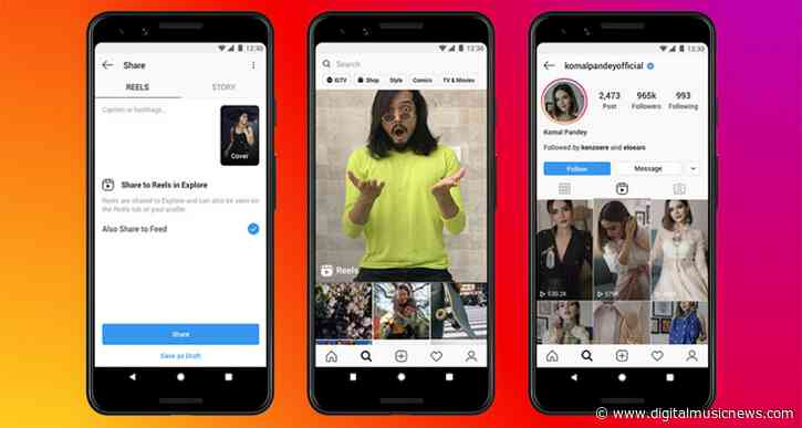 After TikTok Ban, Instagram Launches 'Reels' Competitor in India – U.S. Next?