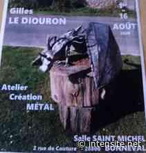 BONNEVAL - Exposition : Sculpture métal, Gilles Le Diouron - Radio Intensité