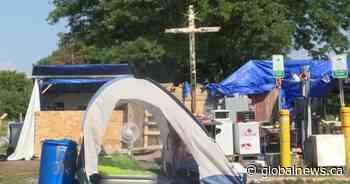 Belle Park encampment extended to July 31