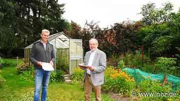 Familie Zapp aus Nortrup bei Ilek-Gartenwettbewerb ausgezeichnet - noz.de - Neue Osnabrücker Zeitung