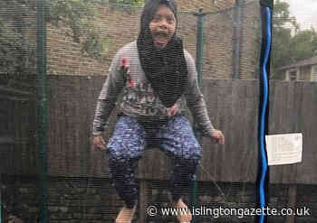 Islington schoolgirl Zahra Chowdhury raises £1400 for GOSH in Ramadan jumpathon - Islington Gazette