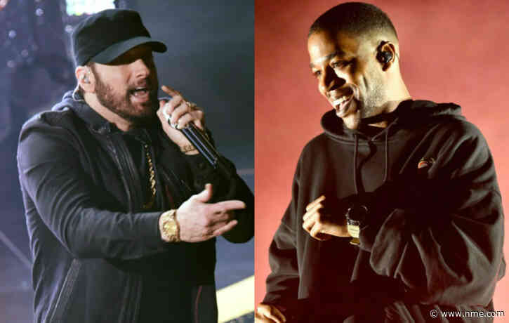 Eminem and Kid Cudi to release collaborative new single this week