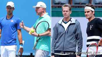 Coaching Roger Federer and Novak Djokovic: Stefan Edberg and Boris Becker share memories - Eurosport - INTERNATIONAL (EN)