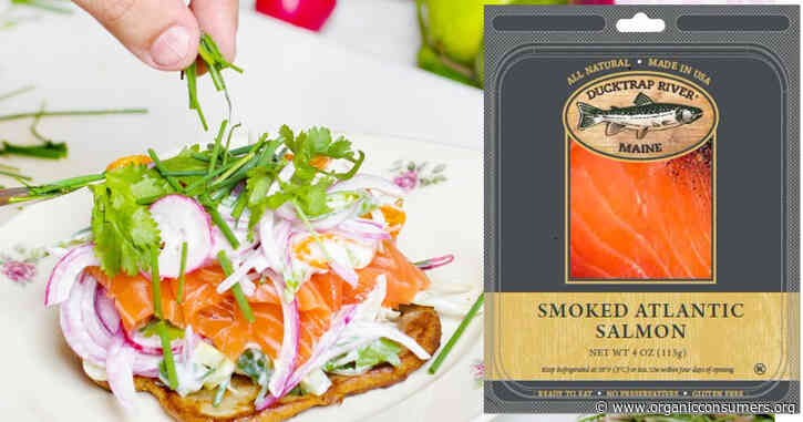 """Tell Ducktrap: Stop falsely claiming that your smoked Atlantic salmon is """"All Natural."""""""