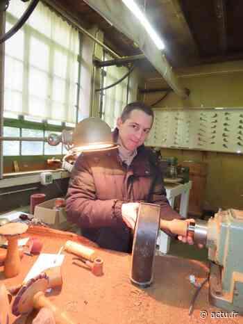 Jura / visites. A Saint-Claude, Sébastien Beaud perpétue la fabrication des pipes de bruyère - Voix du Jura
