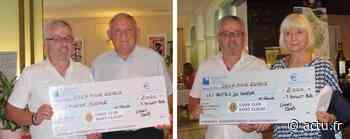 Jura. Le Lions club de Saint-Claude offre un chèque de 2 000 € à l'Epicerie sociale et aux Restos du coeur - Voix du Jura