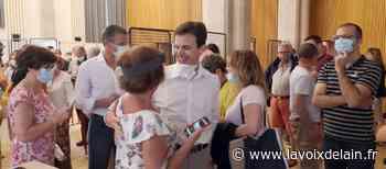 Dimitri Lahuerta élu nouveau maire de Belley - La Voix de l'Ain